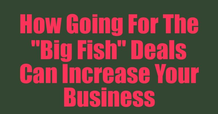 Deals Can Increase Your Business