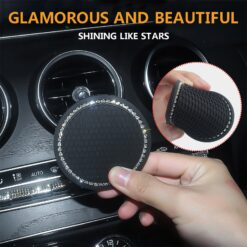 1pc 2pcs Kawaii Removable Water Bottle Coaster Car Water Cup Mat 1 Pack 2 56 Inch 1